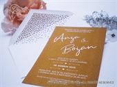 Pozivnica za vjenčanje - Natur Line