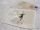 Pozivnica za vjenčanje u obliku razglednice