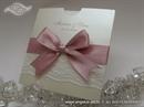 Pozivnica za vjenčanje Pink  Lace Charm