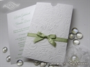Pozivnica za vjenčanje - White and Green Charm