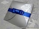 Pozivnica za vjenčanje - Blue & Silver Beauty