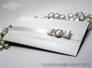 Pozivnica za vjenčanje White Ellegant letter