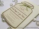 Pozivnica za vjenčanje - Natural Brown Bottle