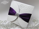 Pozivnica za vjenčanje Purple Diva Shine