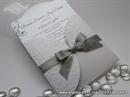 Pozivnica za vjenčanje - Silver Bow Mini Beauty