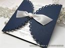 Pozivnica za vjenčanje - Blue Lace Diva