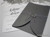 Pozivnica za vjenčanje - Silver Rose Divas