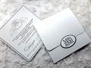 Pozivnica za vjenčanje - Mrs&Mr Classic Budget