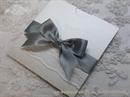 Pozivnica za vjenčanje - Silver Lace Charm