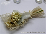 rever za vjenčanje krem morski s morskom zvijezdom u bež boji