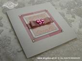 Ekskluzivna čestitka - Pink Butterfly