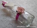 Pozivnica za vjenčanje Poruka u boci - Ružičasta rapsodija