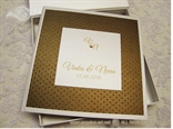Silver Dots Guestbook