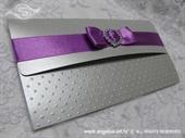 Ekskluzivna čestitka - Purple Bow