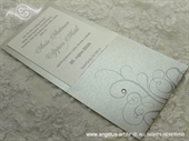 Pozivnica za vjenčanje Destiny Silver