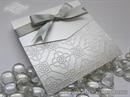 Pozivnica za vjenčanje - Silver Ornament Classic