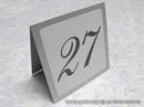 Broj stola za vjenčanje - Silver Beauty