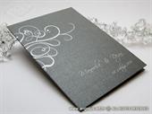 Zahvalnica za vjenčanje Dark Silver Line