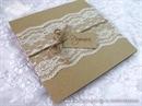 Pozivnica za vjenčanje - Vintage Lace Glorius 1
