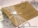Pozivnica za vjenčanje - Vintage Heart Harmony
