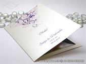 Zahvalnica za vjenčanje Purple Line