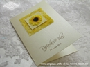 Zahvalnica za vjenčanje Sunflower