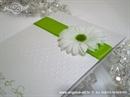 Zahvalnica za vjenčanje Zelena margareta