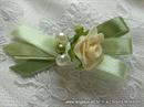 Kitica za rever za goste vjenčanja - Pearl Green Rose