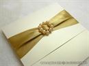 Pozivnica za vjenčanje Gold Elegance