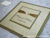 Pozivnica za vjenčanje Per Sempre Royal Gold